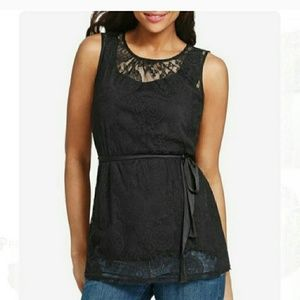 Cabi date night tunic top new with tags
